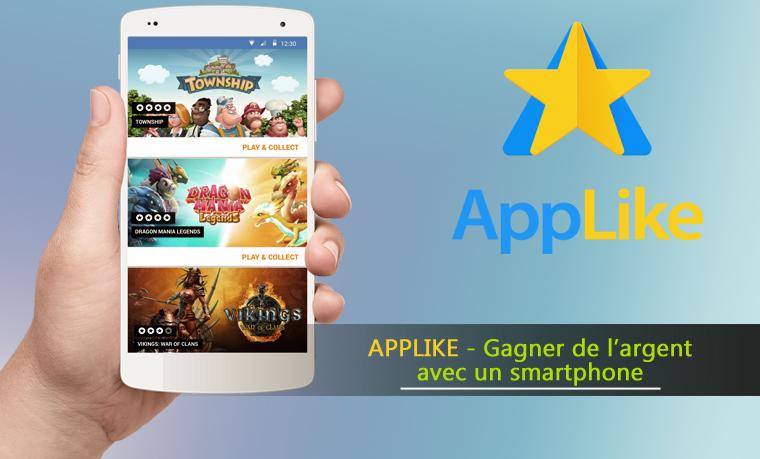 Applike – Gagner de l'argent avec votre téléphone portable