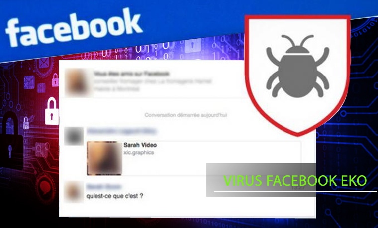 virus EKO facebook comment le supprimer