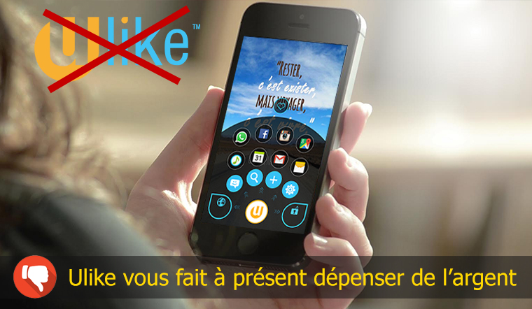 ulike application arnaque