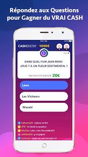 cashshow quiz argent