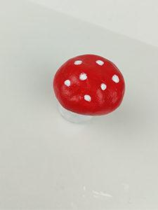 décoration champignon de noel
