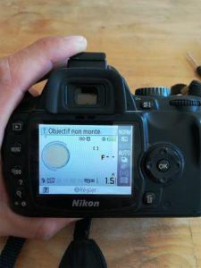 réparer un boitier Nikon photo