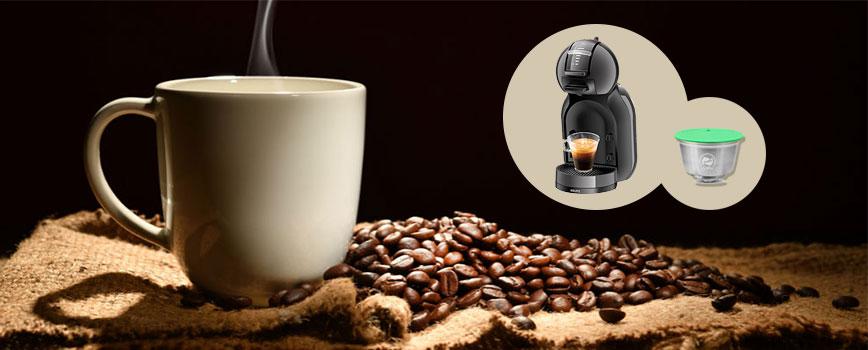 Capsule réutilisable pour machine à café Dolce Gusto