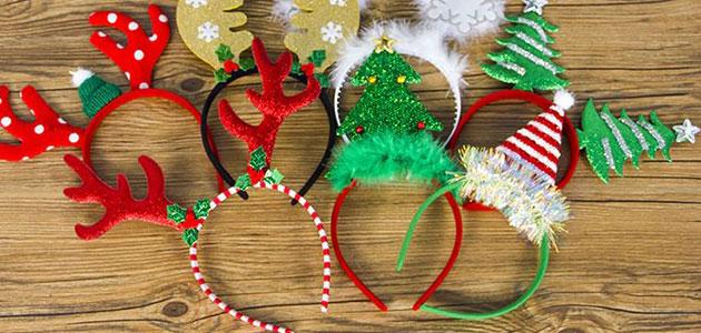 Bandeaux de Noël pour enfants
