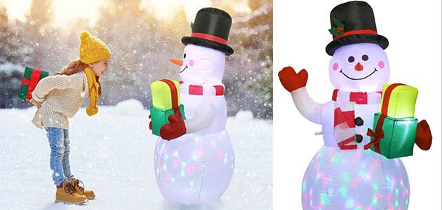 bonhomme de neige gonflable géant aliexpress