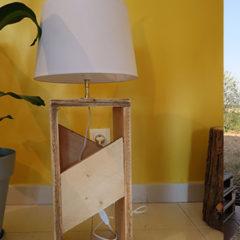 Comment fabriquer une lampe en palette