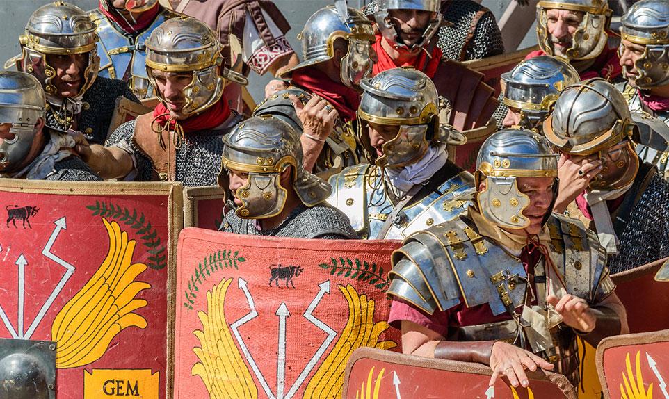 les grands jeux romains nimes
