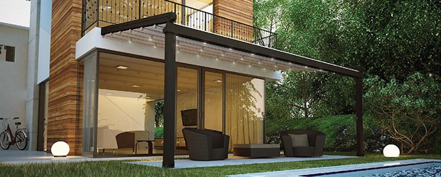 Profitez de votre terrasse cet été avec une pergola aluminium !