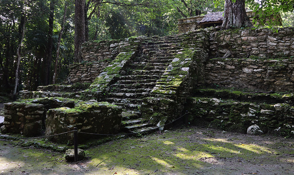 Ruines Mayas Sian Ka'an Yucatán