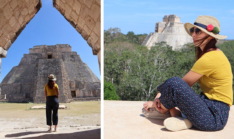 A la découverte des ruines d' Uxmal au Mexique