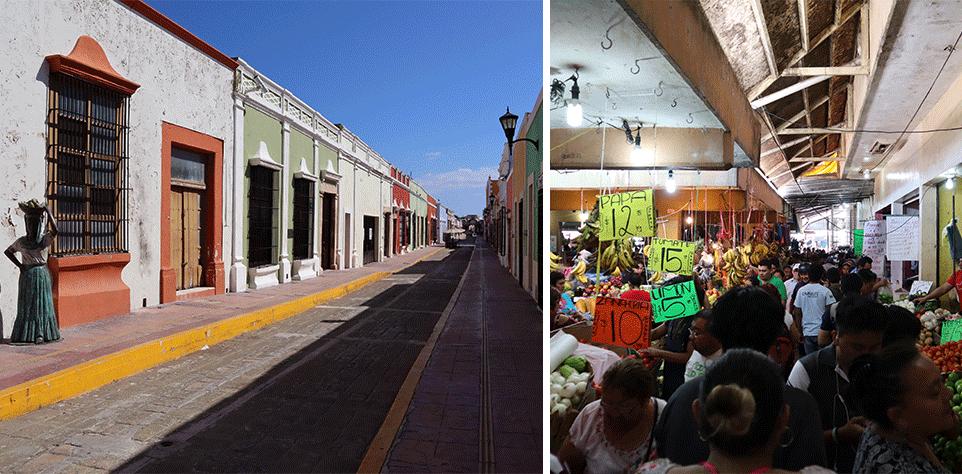 Campêche, la ville aux façades colorées du Mexique