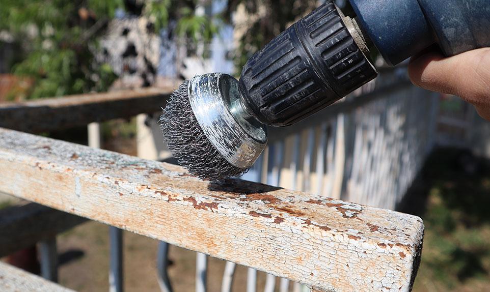 embout fer pour poncer un balcon