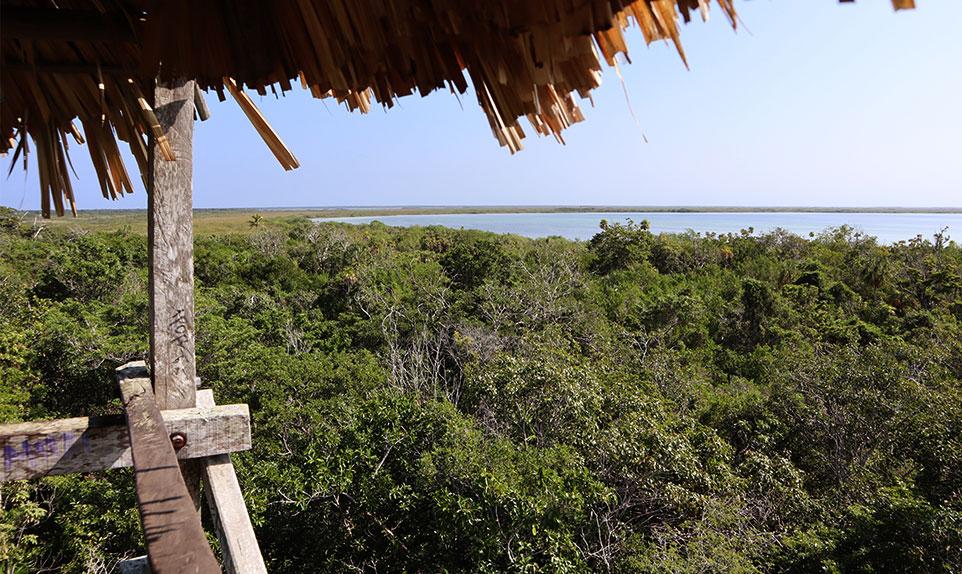 Resserve de Sian Ka'an Yucatán au Mexique