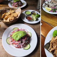 Revue food de notre voyage au Mexique