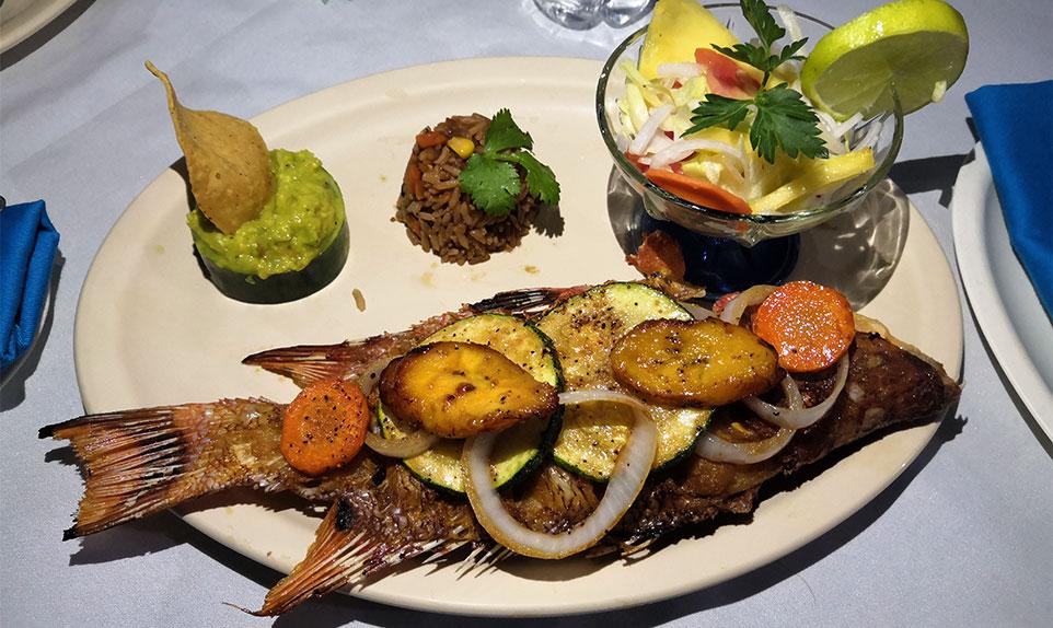 meilleur restaurant Rio Lagartos Voyage Mexique