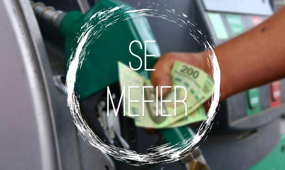 Station essence Mexique Arnaque