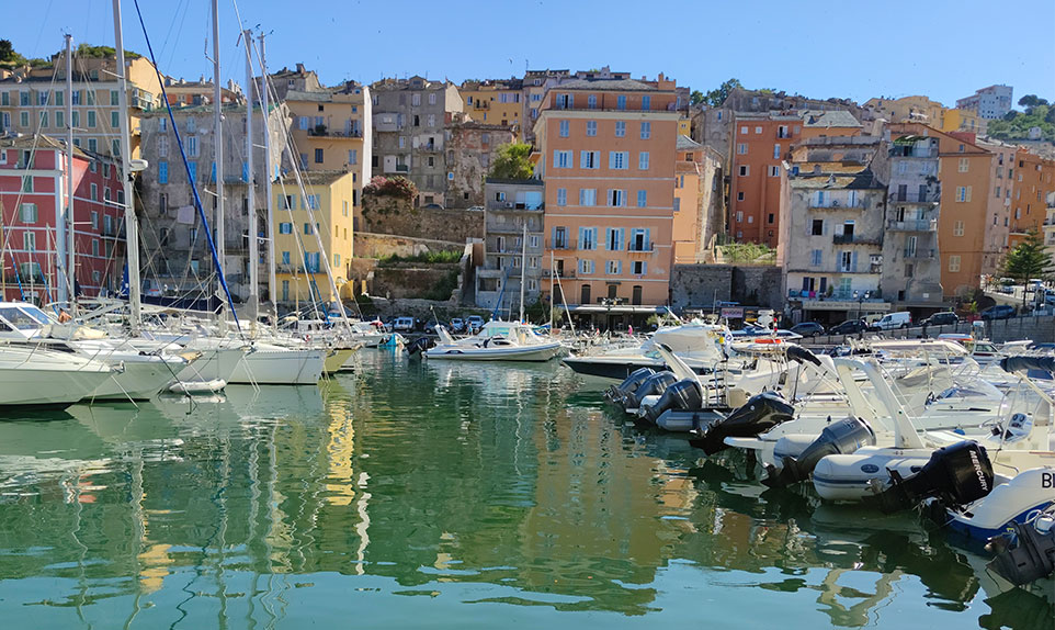 vieille ville de Bastia visite