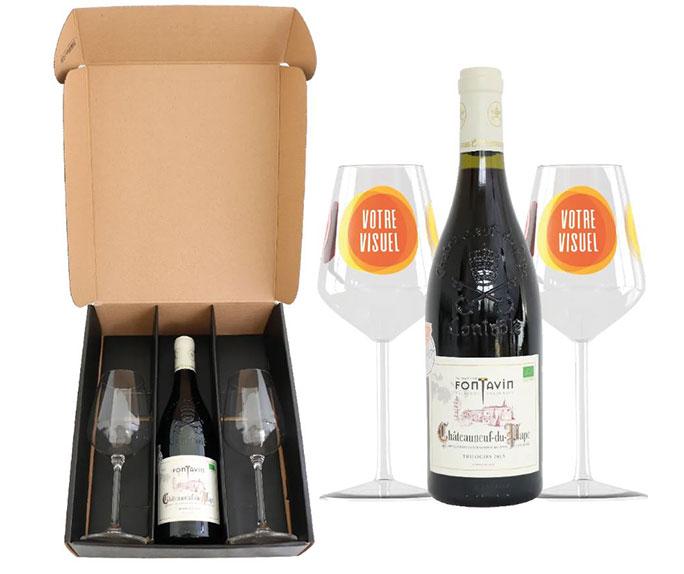 idée cadeaux de noël coffret vin